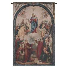 Our Lady of Help European Tapestries