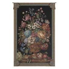 Floral Bouquet Thoughts by Lucio Battisti European Tapestries