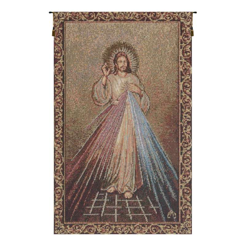 Merciful Jesus European Tapestries