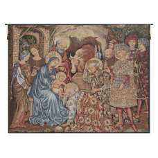 Nativity Adoration European Tapestries