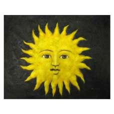 Smile Sunflower Canvas Wall Art