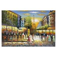 Paris Street I Canvas Wall Art