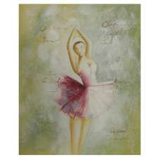 Ballerina I Canvas Wall Art