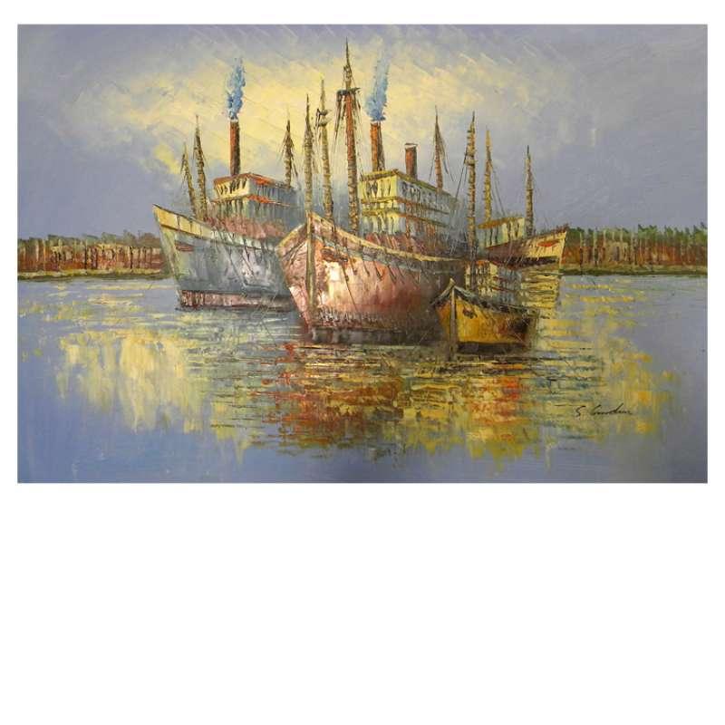 Sea Voyage Canvas Wall Art