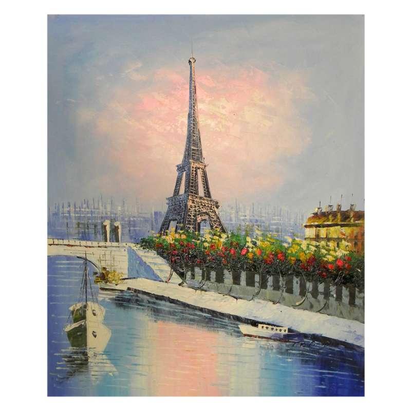 Eiffel Tower in Paris Canvas Wall Art