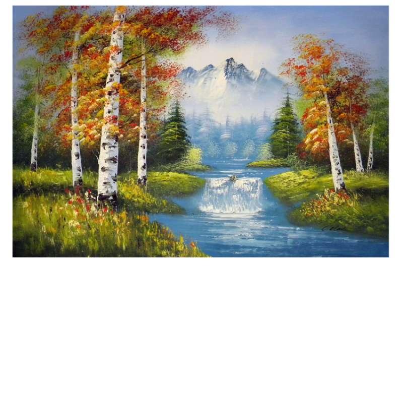 Gradus of Autumn Canvas Wall Art