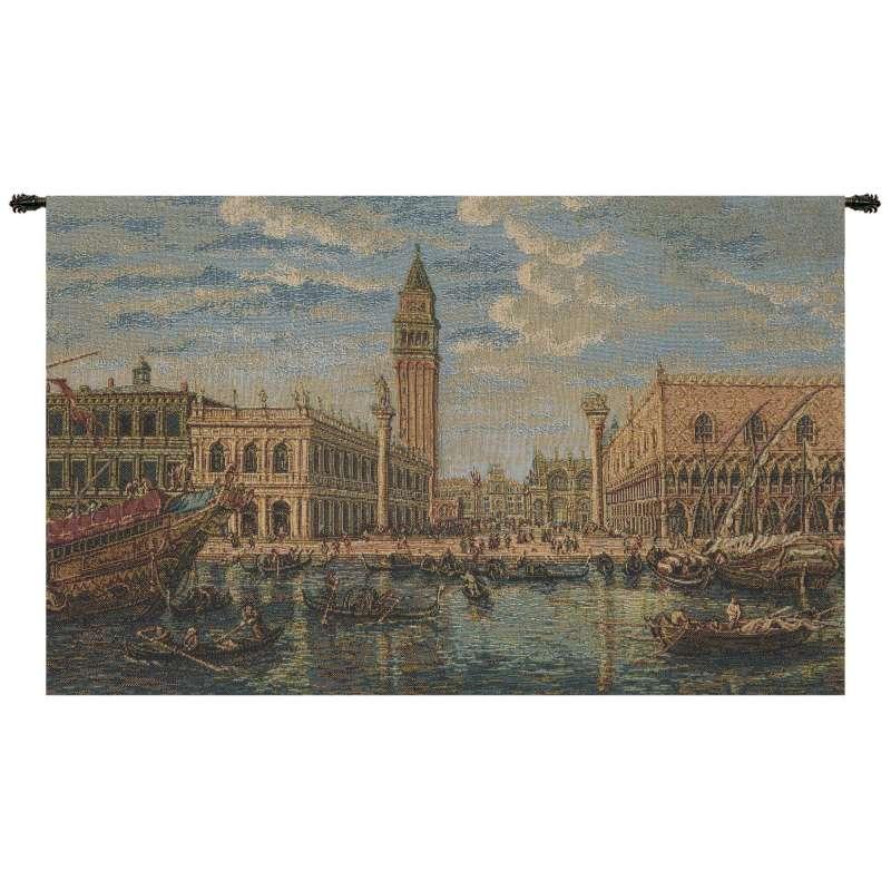 Venice Rialto Ponte di Rialto Italian Tapestry Wall Hanging
