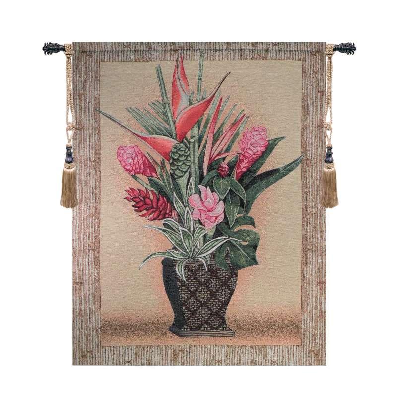 Tropical Garden Fine Art Tapestry