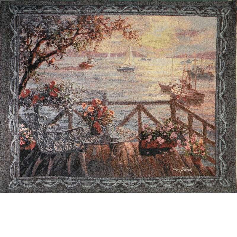 Treasures of the Sea Fine Art Tapestry