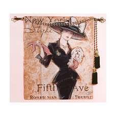 New York Socialite Fine Art Tapestry