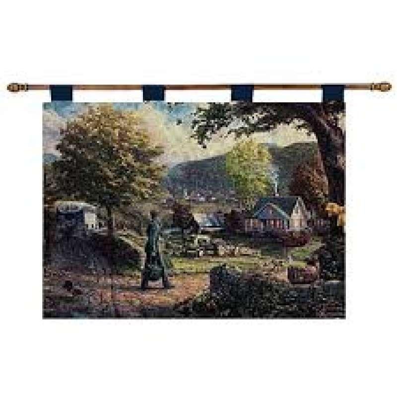 Homecoming Hero Fine Art Tapestry