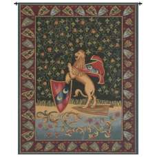 Lion Medieval Italian Tapestry Wall Hanging