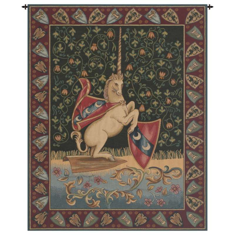 Unicorn Medieval Italian Tapestry Wall Hanging