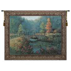 Countryside Bridge Tapestry Wall Art
