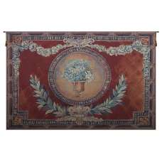 Olive Branch and Flowers Tapestry Wall Art