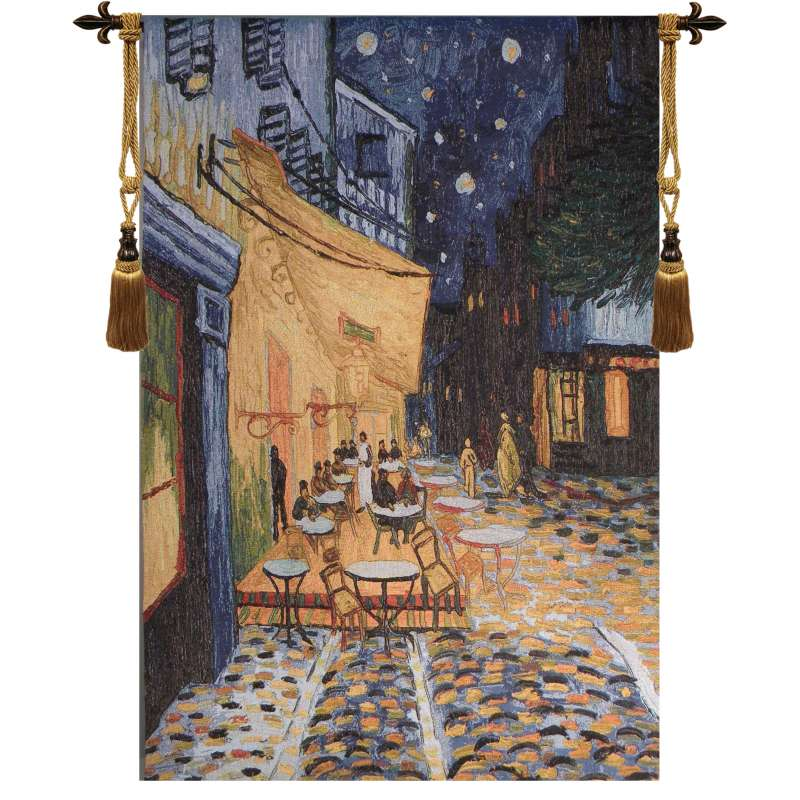 Cafe Terrace at Night - Van Gogh Tapestry Wall Art