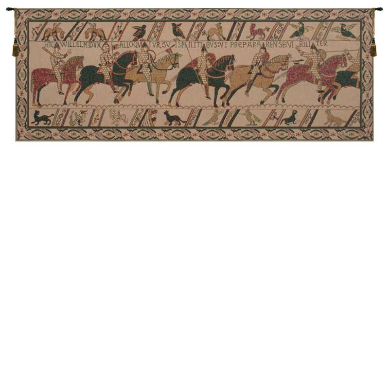 Bayeux William's Troops Belgian Tapestry
