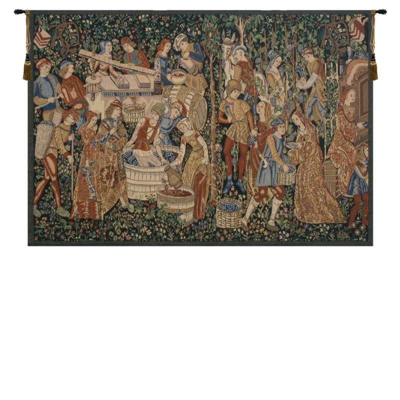 Vendages Rust Belgian Tapestry
