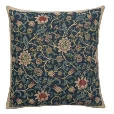 Fleurs de Morris Blue European Cushion Covers