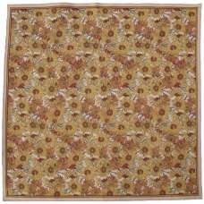 Sunflowers Square Tapestry Throw