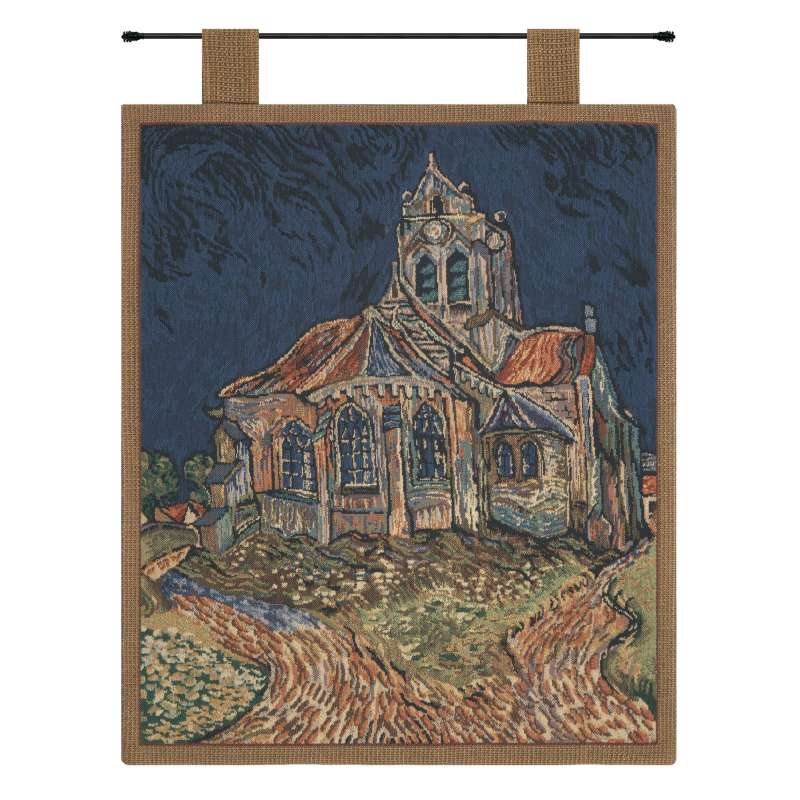 Church of Auvers I Belgian Tapestry