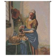 The Kitchen Maid Belgian Tapestry
