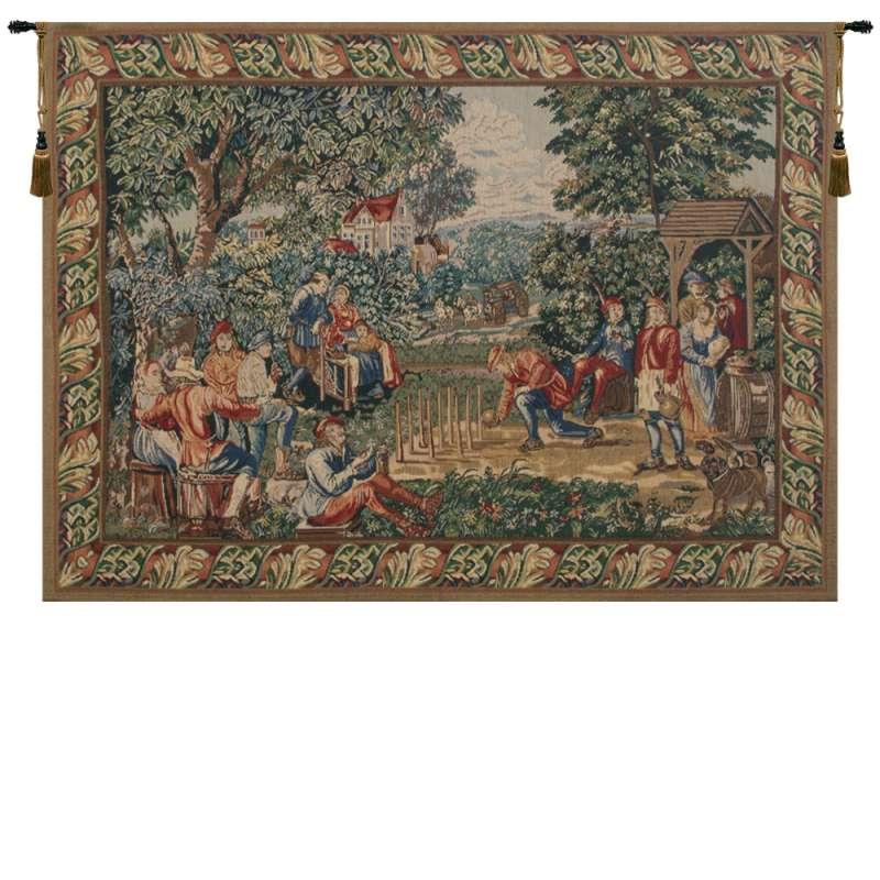 Game of Skittles Belgian Tapestry