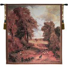 Autumn Countryside Tapestry Wall Art