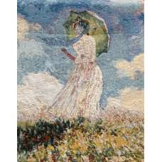 Dame a L'Ombrelle European Tapestry