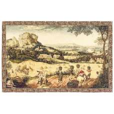 The Hay Harvest Italian Tapestry Wall Hanging