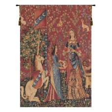 The Smell  L'odorat Small European Tapestry