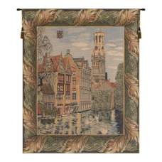 The Canals at Bruges European Tapestry