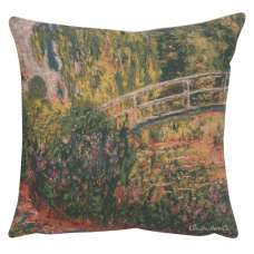 Monet's Japanese Bridge European Cushion Covers
