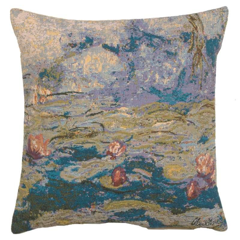 Monet's Water Lilies European Cushion Covers