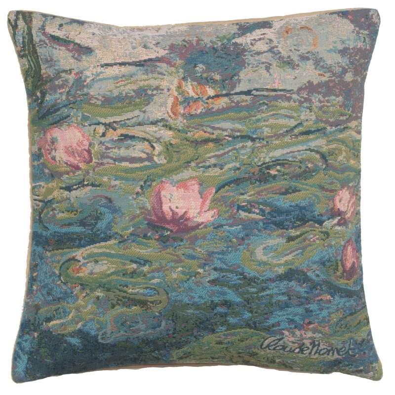 Monet's Water Lilies II European Cushion Covers