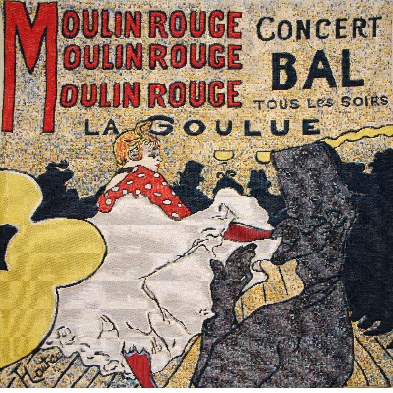 Moulin Rouge II European Cushion Cover