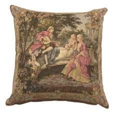 Garden Party Left Panel European Cushion Covers
