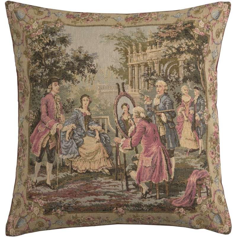 Garden Party  Right Panel European Cushion Cover
