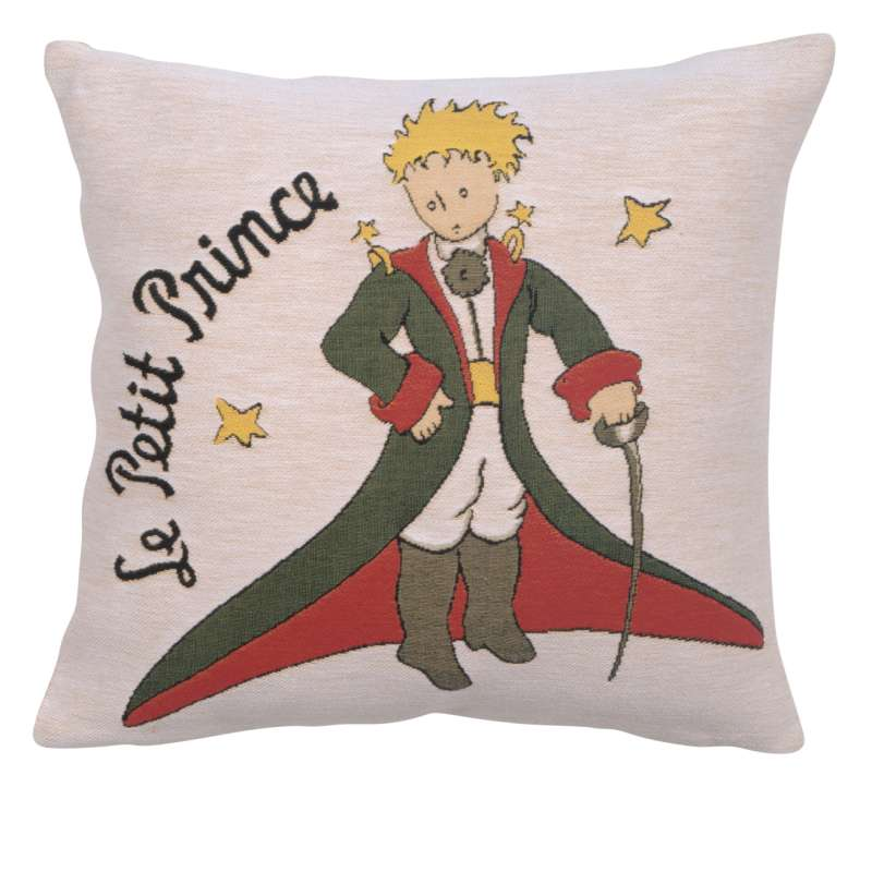 The Little Prince in Costume Large European Cushion Cover