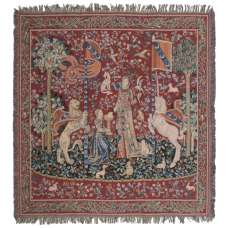 The Lady and the Unicorn III European Throw
