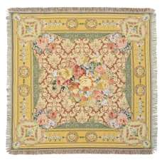 Floral Kaleidoscope  European Throw