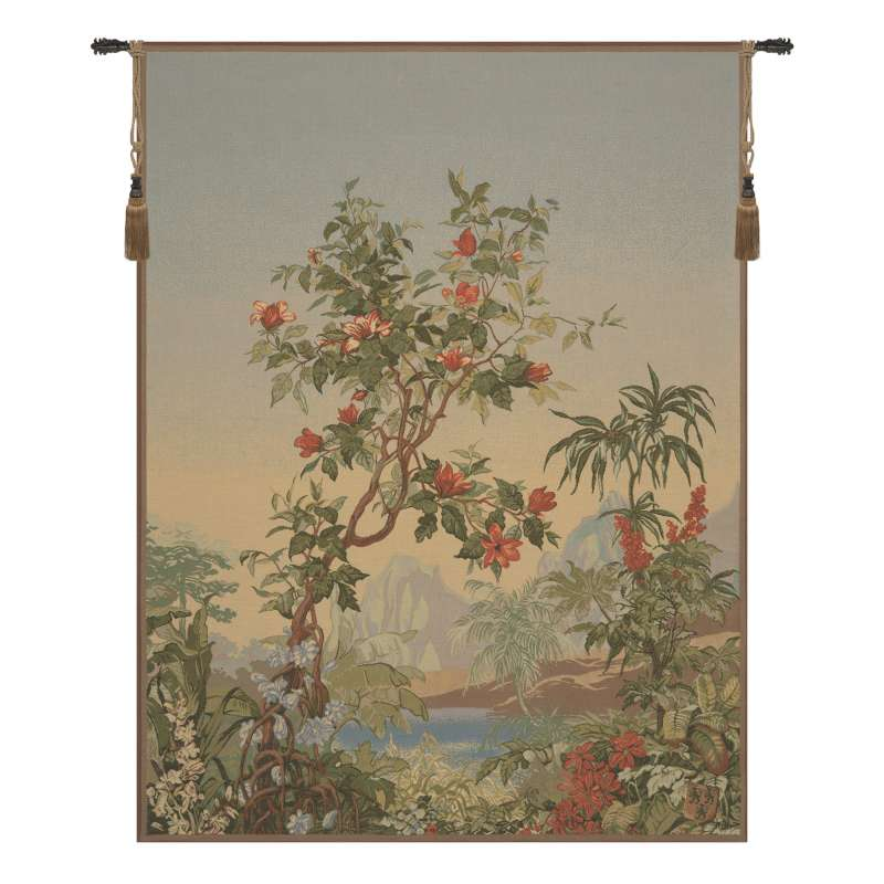 Flamboyant French Tapestry Wall Hanging