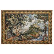 Verdure Ferrieres French Tapestry Wall Hanging