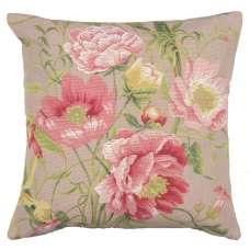 Peonies 2 Decorative Tapestry Pillow