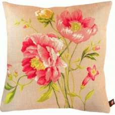 Pansies French Tapestry Cushion