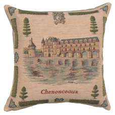 Chenonceaux 1 Decorative Tapestry Pillow