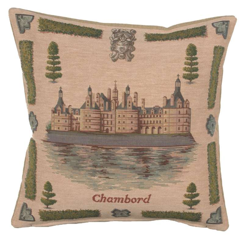 Chambord 1 French Tapestry Cushion