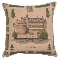 Amboise Decorative Tapestry Pillow