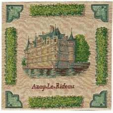 Azay Le Rideau Decorative Tapestry Pillow