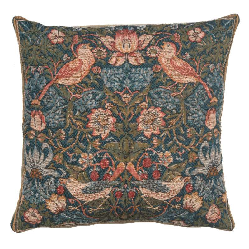 Cushion Birds Face to Face French Tapestry Cushion